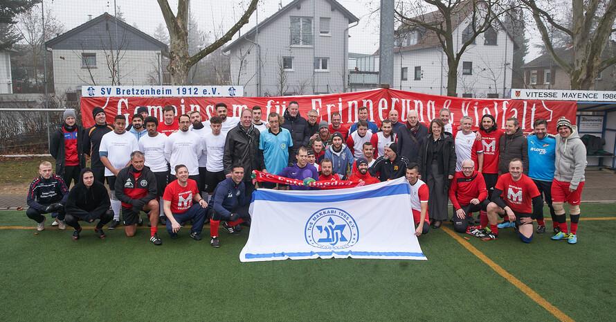 Sinti und Roma-Team beim Erinnerungsturnier  Foto: FC Ente Bagdad / Vitesse Mayence e.V.