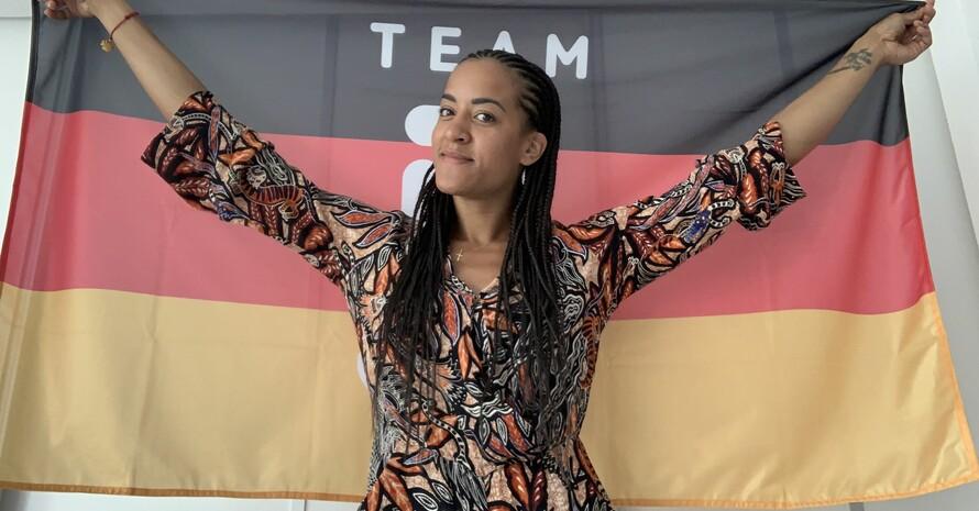 Alexandra Ndolo will sich als Fechterin ihren Olympiatraum erfüllen. Foto: privat