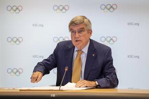 IOC-Präsident Thomas Bach.  Foto: IOC/Philippe Woods