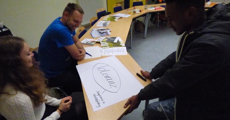 Bearbeitung einer Gruppenarbeit