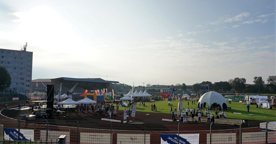 Stadion am Quenz (Quelle: DOSB/Treudis Naß)