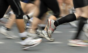 So weit die Füße tragen, heißt es 2022 beim Ultralauf in Bernau. Foto: picture-alliance