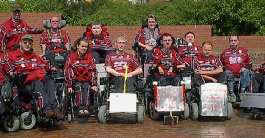 """Die Mannschaft der """"Nording Bulls"""" des SV90 Lohmen. Bild: www.nordingbulls.de"""