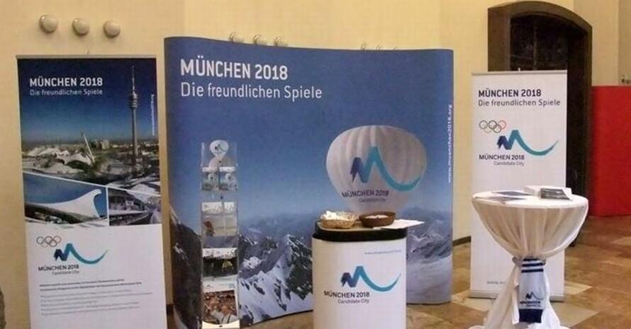 Alles muss raus: Bis zum 20. Oktober 2011 kann jeder mitbieten. Foto: München 2018 GmbH i.L.
