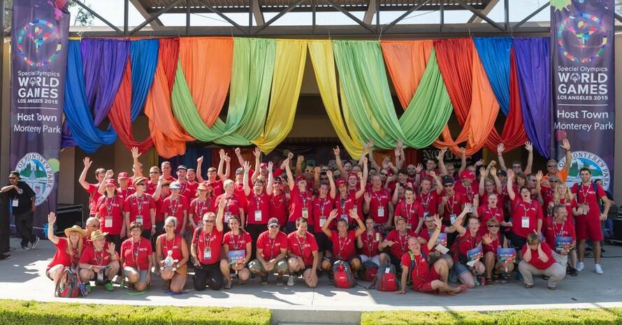 Erfolgreiches Sportjahr: Die Athleten und Athletinnen von SOD bei den World Games in Los Angeles. Foto: SOD/Luca Siermann