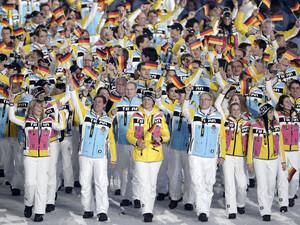 Die deutsche Olympia-Mannschaft war in Vancouver erfolgreich. Copyright: picture-alliance
