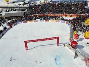 Die Kandahar-Abfahrt in Garmisch-Partenkirchen soll für München 2018 nicht verändert werden. Foto: picture-alliance