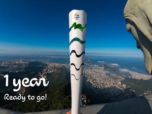 In einem Jahr wird in Rio die Olympische Flamme entzündet. Foto: picture-alliance