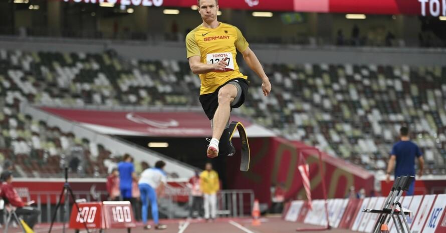 Paralympicssieger Markus Rehm springt zum dritten Goldtriumph nach London 2012 und Rio 2016. Foto: picture-alliance