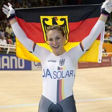Kristina Vogel während dem Sprint bei den Olympischen Spielen in Rio 2016. Foto: picture-alliance