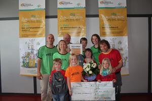 Die Klettergruppe Klimpansen steht zur Wahl für den Publikumspreis des Deutschen Engagementpreises. Foto: dsj