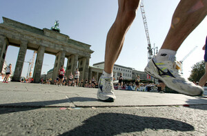 """Der 38. Berlin-Marathon im September über 42,195 Kilometer ist jetzt schon """"ausverkauft"""". Foto: picture-alliance"""