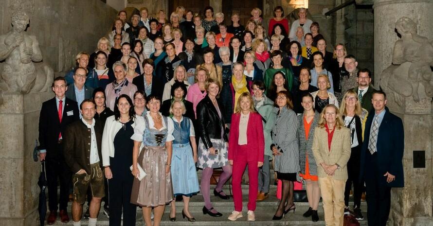 2019 fand die Frauen-Vollversammlung noch als Präsenzveranstaltung statt. Foto: DOSB/Anja Jahn