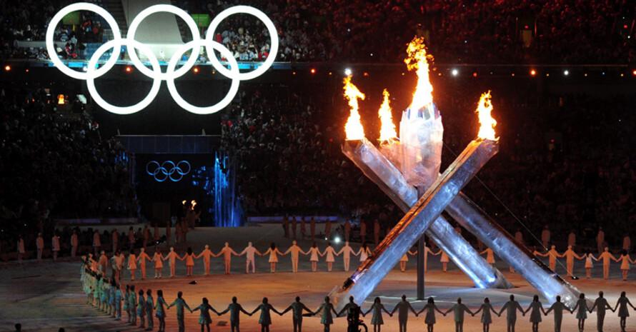 Die Eröffnung der Olympischen Winterspiele im BC Place Stadium. Copyright: picture-alliance