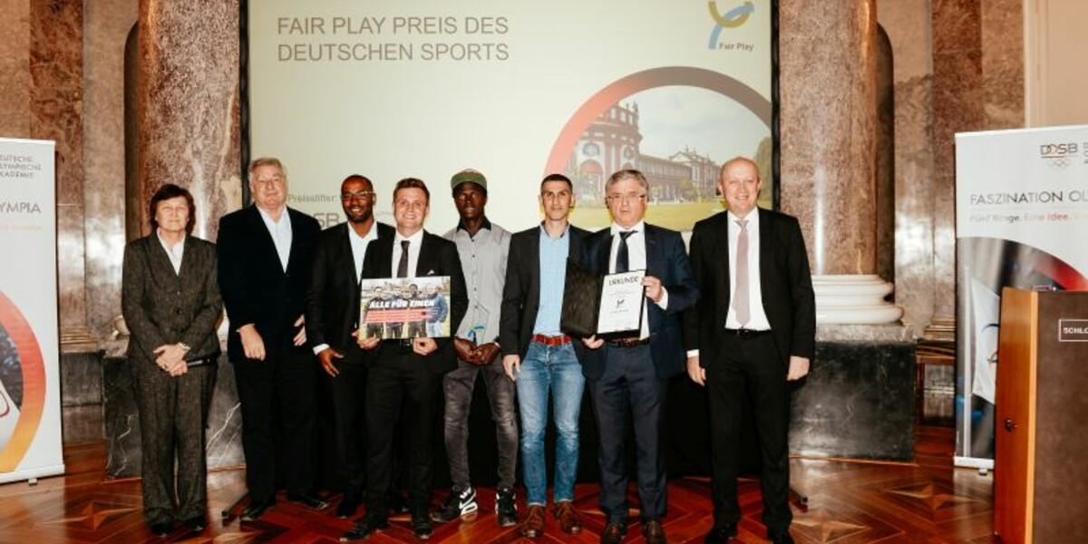 Verleihung des Fair Play Preises 2018