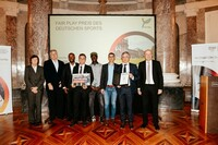 Verleihung des Fair Play Preises 2018 in der Sonderkategorie an den SC Lauchringen. Foto: picture alliance