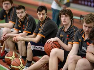 Das Unified-Basketballteam des TSV Hagen Unified mit behinderten und nichtbehinderten Sportlern. Foto: SOD/Andreas Endermann