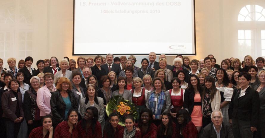 Die Frauen-Vollversammlung 2010 fand in Mainz statt. Foto: DOSB/Obernolte