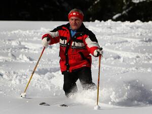 """Skifahren kann auch noch nach einem Herzinfarkt betrieben werden, allerdings nur wenn der Arzt """"grünes"""" Licht gibt. Copyright: picture-alliance"""