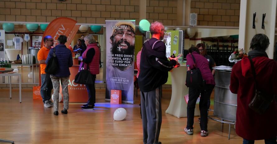 Vielfältige Informationsstände beim Aktionstag des Reha-Sport-Vereins Bad Kreuznach; Copyright: DOSB