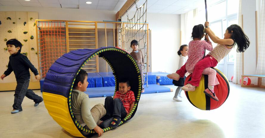 Kinder sollen sich 60 Minuten täglich bewegen. Foto: LSB NRW