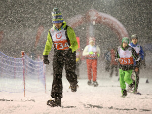 Bei den Special Olympics World Winter Games 2017 treten Athleteninnen und Athleten auch im Schneeschulauf an. Foto: GEPA pictures/Special Olympics