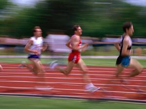 Fast 250.000 Sportabzeichen wurden 2007 in Nordrhein-Westfalen abgelegt. Copyright: picture-alliance