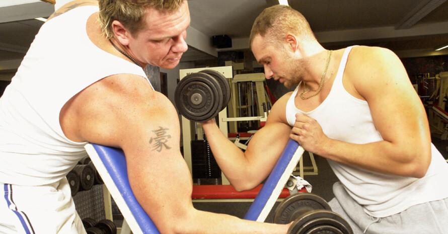 Experten schätzen, dass 20 Prozent der Sportler in Fitness-Studios Anabolika verwenden. Foto: picture-alliance