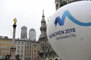 München 2018-Heißluftballon auf dem Münchner Marienplatz. Foto: picture-alliance