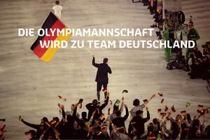 In PyeongChang wird das Team Deutschland erstmals mit dem neuem Logo an den Start gehen. Foto: DOSB/picture-alliance
