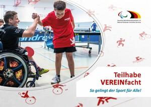 Das Handbuch Behindertensport steht als Druckversion sowie als E-Book zur Verfügung. Foto: DBS