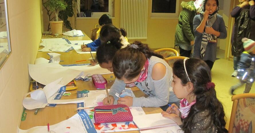 Kinderbetreuung ist Teil des Projektinhalts