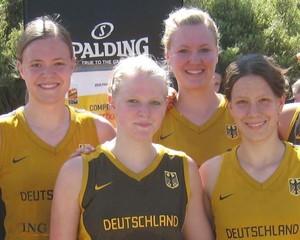 Das Basketball-Team für die Youth Olympic Games.