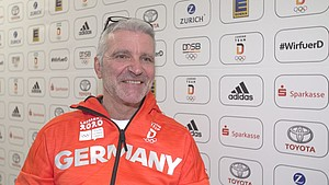 Chef de Mission Roland Frey zieht zur Halbzeit der Olympischen Jugendspiele in Lausanne ein positives Fazit. Foto: DOSB