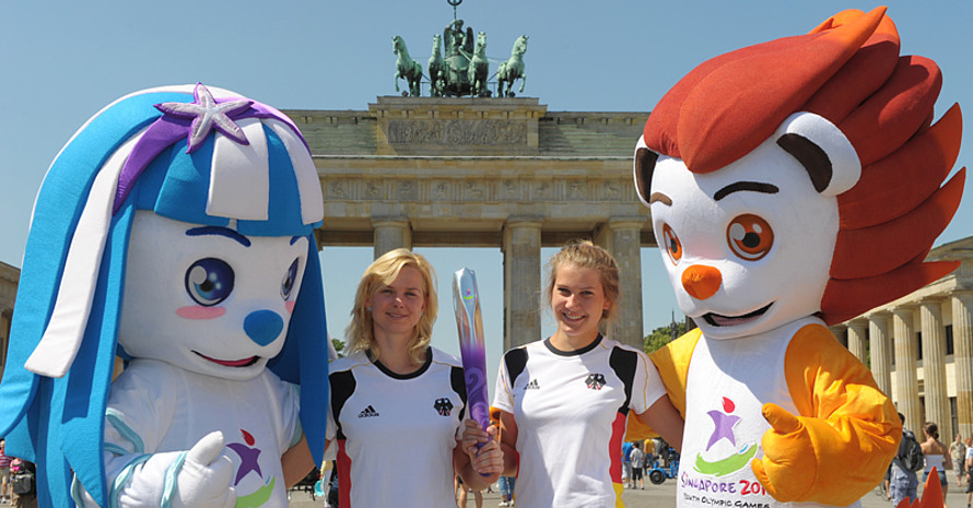 Youth Olympic Day und die ersten Youth Olympic Games