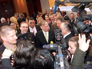 Bundespräsident Horst Köhler verleiht auch in diesem Jahr wieder den Stern des Sports in Gold.
