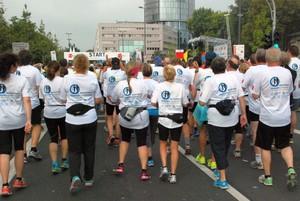 80 Läuferinnen und Läufer mit  mit Diabetes mellitus nehmen am Köln Marathon teil. Foto: DSHS