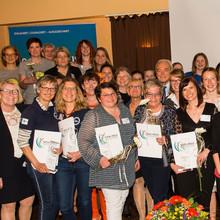 Die Preisträgerinnen bei der Verleihung in Gelsenkirchen. Foto: LSB NRW
