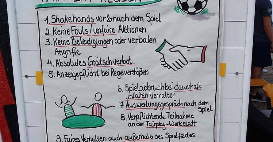 Alle Mannschaften spielten nach speziellen Fairplay-Regeln, die auch die Endwertung beeinflussten (Foto: IdS Sachsen)