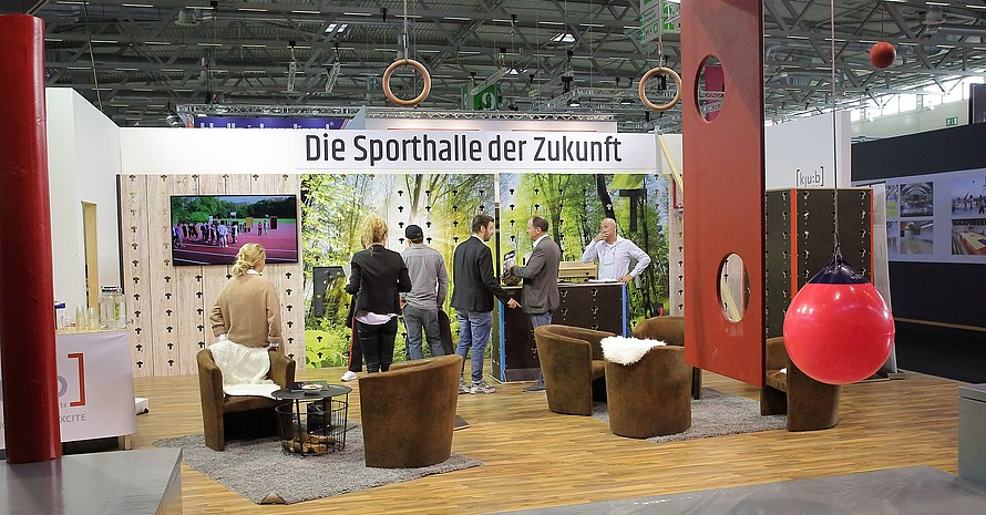 Die FSB 2019 in Köln wird wieder innovative Sportstättenkonzepte präsentieren. Foto: DOSB