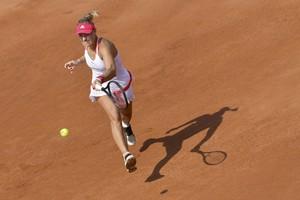 """Angelique Kerber ist auch in diesem Jahr wieder Aushängeschild für """"Deutschland spielt Tennis"""". Foto: picture-alliance"""