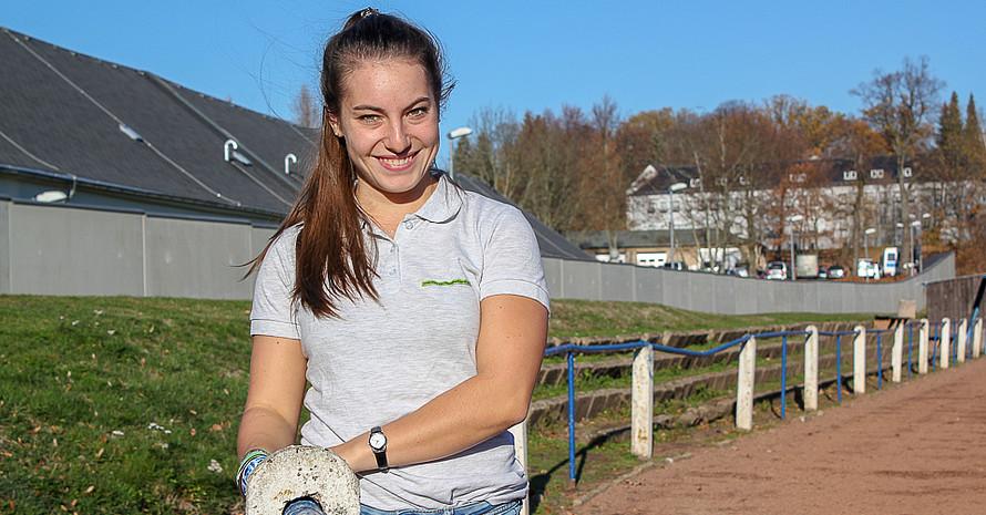 Jitka Dunger arbeitet seit 2017 als Integrationslotisin am Stadtsportbund Chemnitz