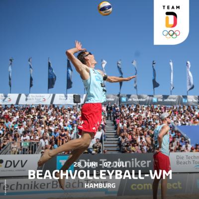 Beachvolleyball-WM in Hamburg