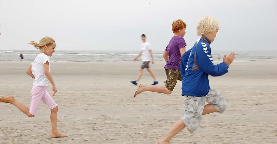 Der Termin war auf die Tide abgestimmt: Sprint auf der Sandbank. (Foto: Marco Dames)