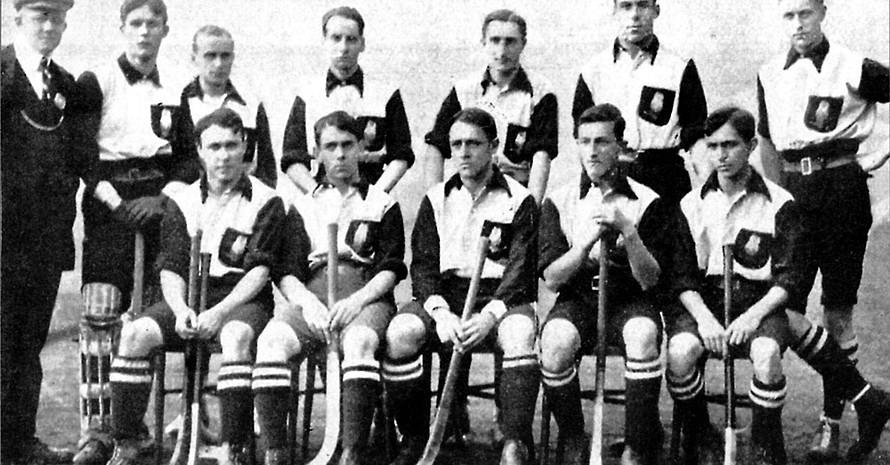 Die Spieler des Uhlenhorster HC bildeten 1908 die Hockey-Olympiamannschaft. Copyright: picture-alliance