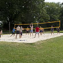Volleyball in der Natur statt in der Halle. Foto: LSB NRW