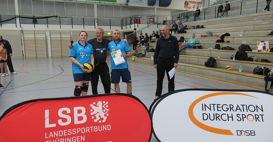 Platz 2 belegte Team Vitaly 2 aus Erfurt.
