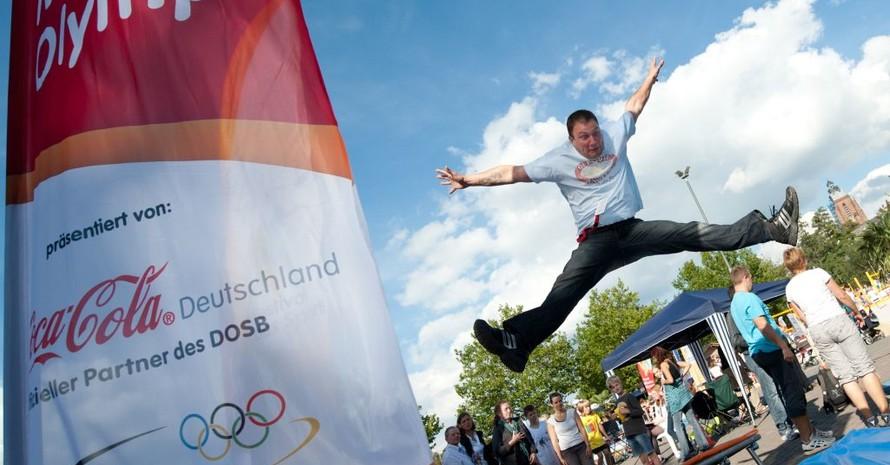 Höher, schneller, weiter: Der Wettbewerb Mission Olympic startet zum fünften Mal. Gesucht wird Deutschlands aktivste Stadt 2012. Foto: www.mission-olympic.de