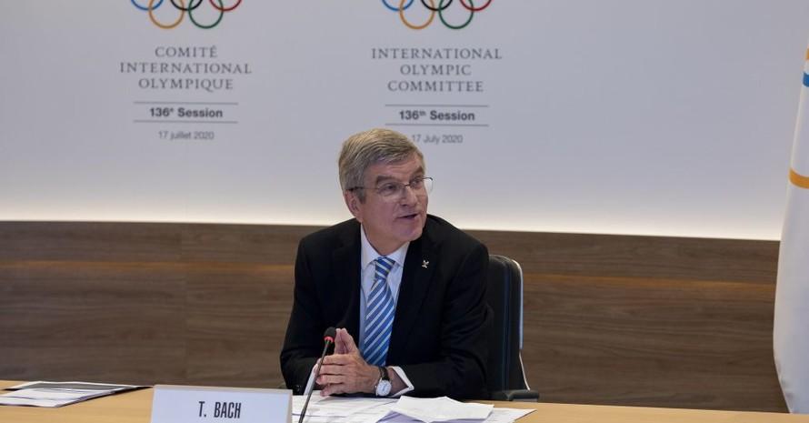 Thomas Bach erhält den Seoul Friedenspreis für seinen Einsatz für Flüchtlinge und die Teilnahme Nordkoreas an den Olympischen Winterspielen 2018. Foto: IOC/Greg Martin