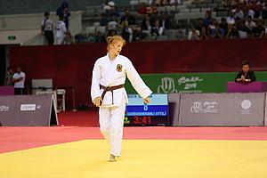 Bronzemedaillen-Gewinnerin im Judo: Samira Bock (Bild: DOSB)